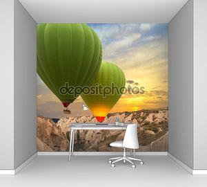 воздушные шары в Каппадокии, Турция
