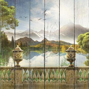 Терраса на горном озере