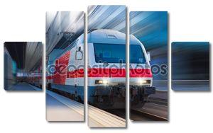 современные высокоскоростные поезда
