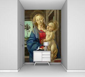 Боттичелли. Мадонна с Младенцем с гранатом