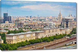 Москва - городской пейзаж, историческая часть города