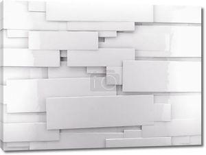 белая стена прямоугольники