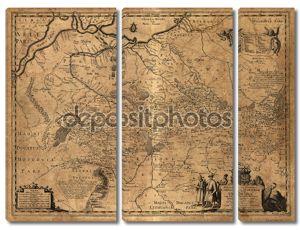 Карта Украины 1648