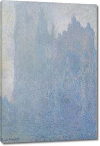 Моне Клод. Руанский собор в тумане, 1894
