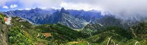 Артенара - самая высокая деревня Гран-Канария с захватывающим видом. Испания.