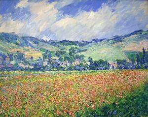 Моне Клод. Маковое поле, окраина деревни Живерни 1885