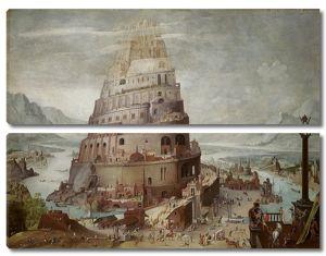 Копия утраченного оригинала. Строительство вавилонской башни