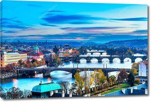 Прага, Карлов мост и Старый город