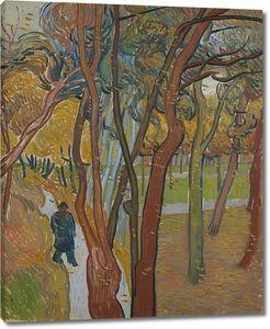 Ван Гог. Прогулка. Листопад