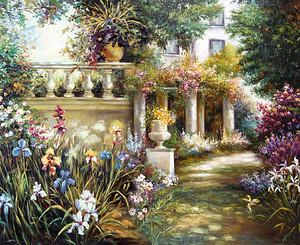 Сказочный цветочный парк