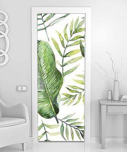Разнообразные листья пальм