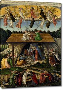 Боттичелли Сандро. Мистическое Рождество Христово
