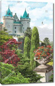 Ваза и замок