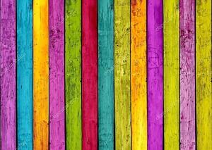 красочный деревянный фон