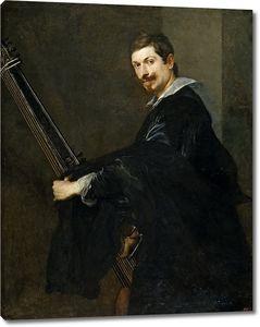 Дейк Антонис ван. Мужчина с лютней
