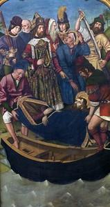 Мартин Бернат. Перемещение тела св. Иакова Старшего во дворец Королевы Лупы