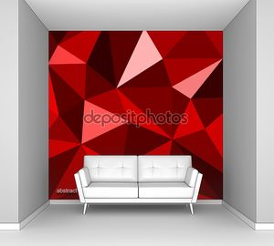 оригами фон абстракция