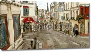 Улица в Париже