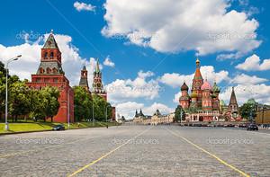 Красная площадь, Москва, Россия