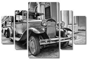 Ретро автомобиль в Гаване