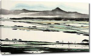 Работа на рисовых полях
