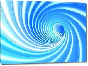 Синий абстрактный вихрь
