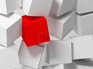 Кубики. Абстрактный фон