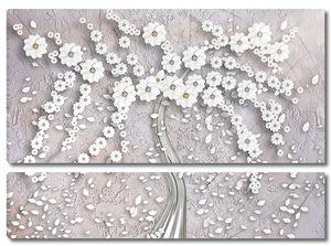 Абстрактное дерево из цветов