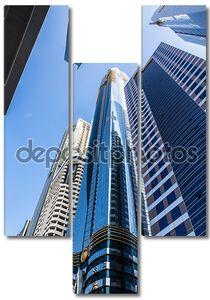 Высокой роскоши строительства небоскреба