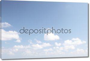 Белоснежные облака