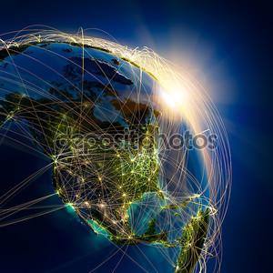 Главные воздушные маршруты