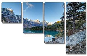 Панорама озера Морейн