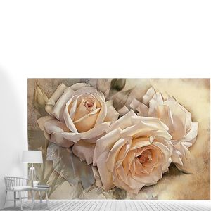 Три чайные розы