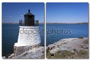 Каменный Маяк башня с видом на залив