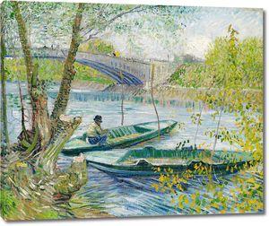 Ван Гог. Весенняя рыбалка, Пон-де-Клиши