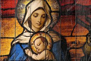 Вигин Мария с младенцем Иисусом
