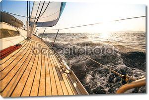 Яхта парусная регата.