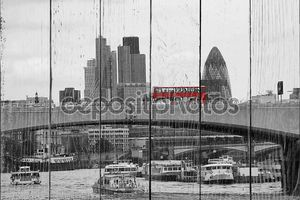 Лондонский горизонт, видно из Набережная Виктории
