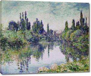 Моне Клод. Утро на сене, рядом с Ветей, 1878