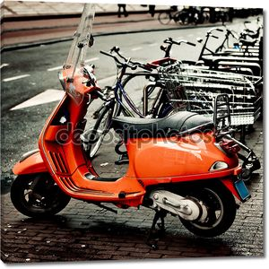 мотоцикл Vespa