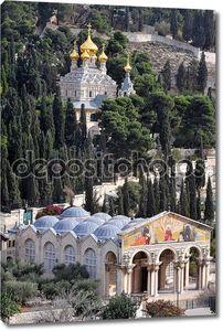 Церковь всех Наций и церковь Святой Марии Магдалины