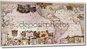 Интересная старая карта