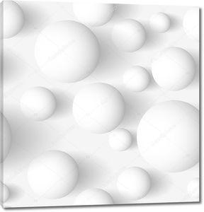 Сферический белый фон