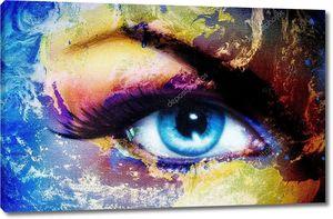 Планета Земля и человеческий глаз
