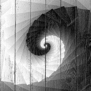 Спиральные оттенки серого геометрические фон