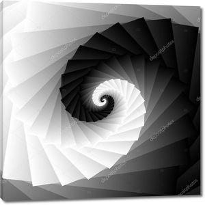 Спиральные оттенки серого