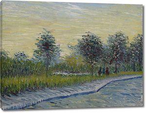 Ван Гог. Путь в парк Войер Дангерсон в Аньере