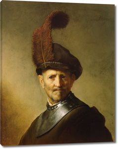 Рембрандт. Старик в военной одежде (портрет отца)