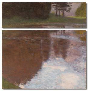 Климт Густав. Спокойный пруд