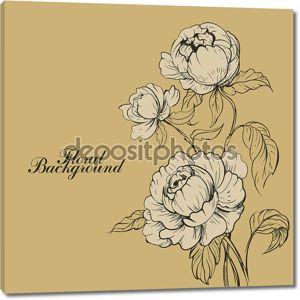 Красивые романтические розы